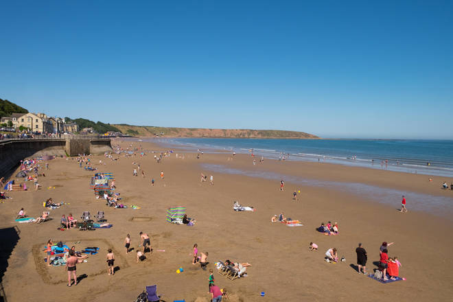 Filey is located in north Yorkshire