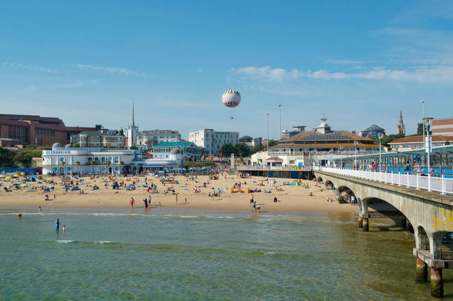 Bournemouth Beach was fifth on the list