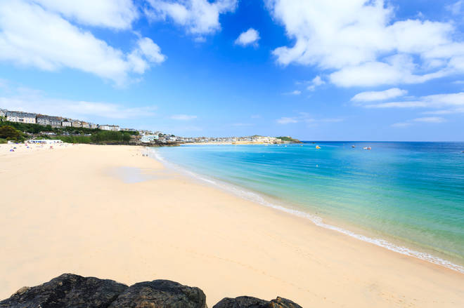 Porthminster Beach came in 10th place