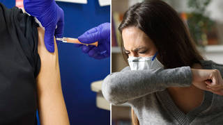 New data has found five common symptoms in fully-vaccinated people from the last 30 days