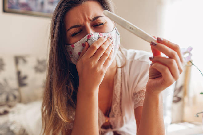 Sneezing has been highlighted as a common symptom of fully-vaccinated people with Covid