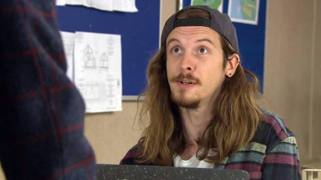 Ryan Stock is played by James Moore in Emmerdale