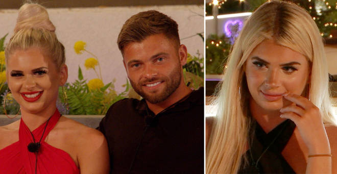 Liberty and Jake have left the Love Island villa