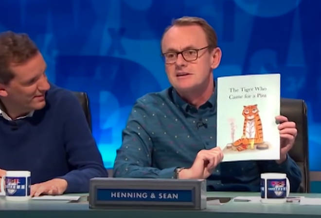 Sean Lock first revealed the parody book on an episode of 8 Out Of 10 Cats Does Countdown