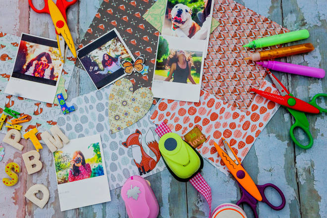 Scrapbook journals are a great way to get creative