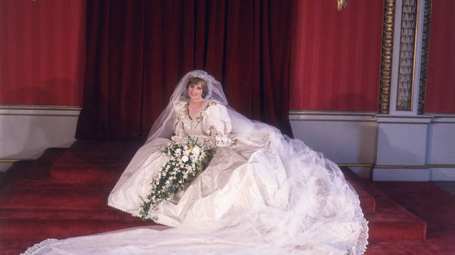 David said that Diana was the 'dream client' when it came to designing her wedding gown