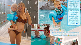Stacey Solomon hired out a pool in Essex