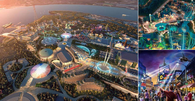 Plans for the London Resort have moved to the next stafe