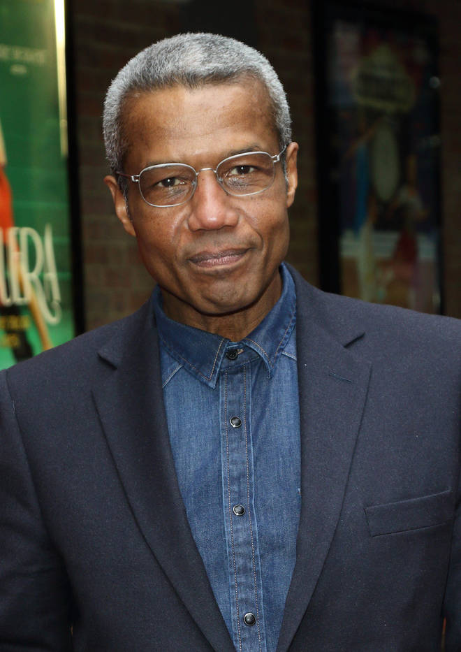 Hugh Quarshie is playing Neville Lawrence in Stephen