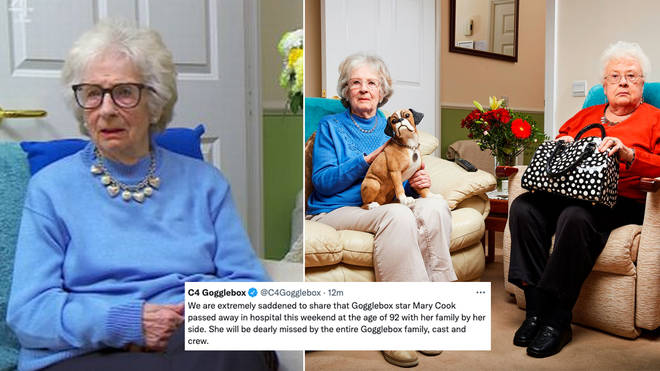 Mary from Gogglebox has sadly passed away