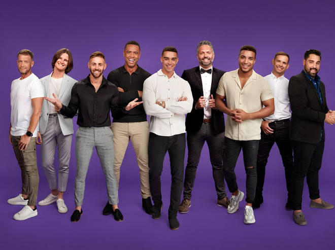 The Married at First Sight UK boys
