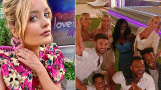 The Love Island final is being filmed live from the villa
