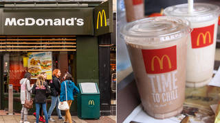 McDonald's has run out of milkshakes across all stores