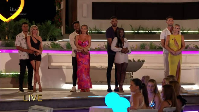 There were four couples in the Love Island final