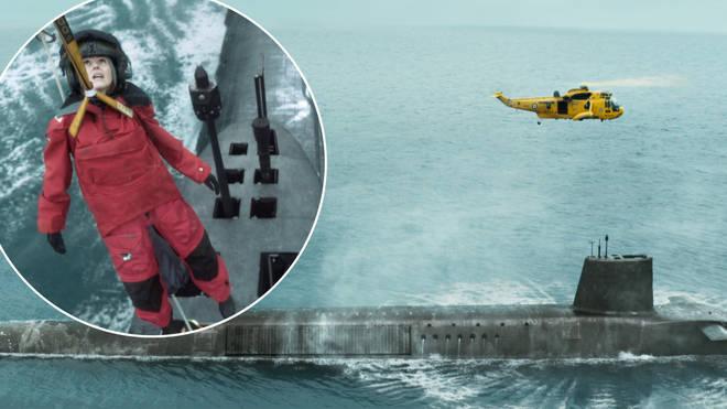 The HMS Vigil isn't a real submarine