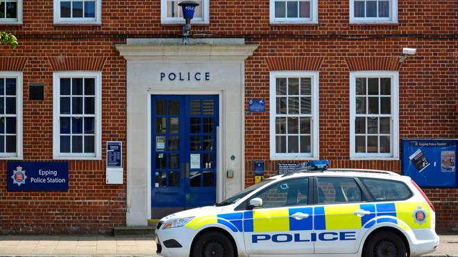 Stephen was filmed at Epping Police Station
