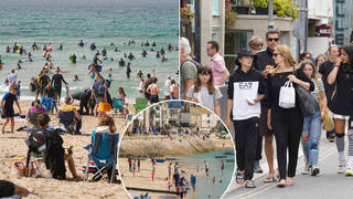 Brits are being urged to stay away from Cornwall