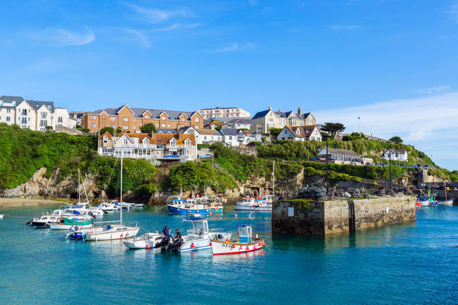 Newquay has been a holiday hotspot this summer