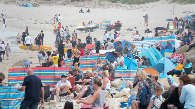Cornwall tourist board has told visitors to stay away