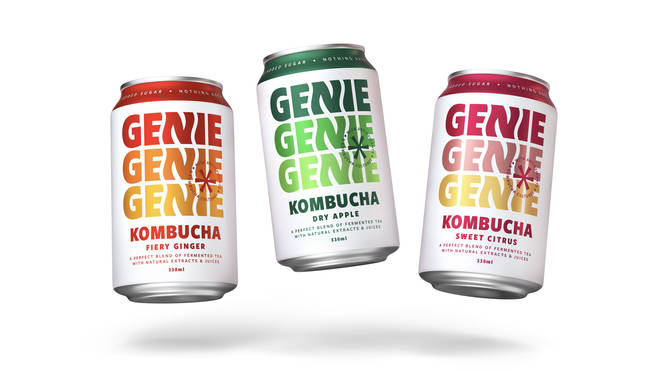 Kombucha is great for having a healthy gut