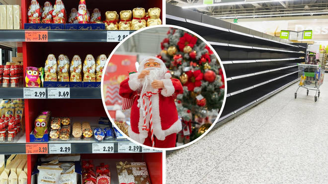 Shoppers might miss out on their festive favourites