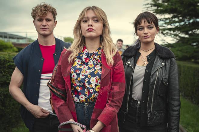 Aimee stars in Netflix's Sex Education