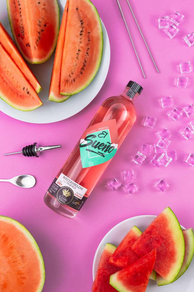 El Sueño's Watermelon Tequila will make shots more palatable