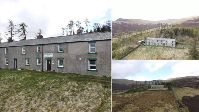 A remote house in the Lake District is on sale for £1.5million