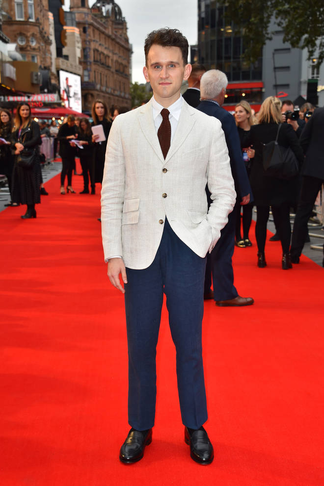 Harry Melling on the red carpet for his new film