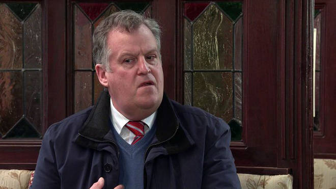 Corrie's Brian Packham is played by Peter Gunn
