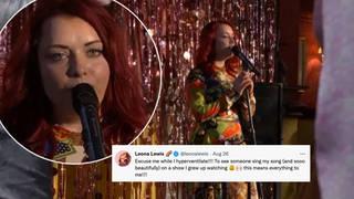 Leona Lewis has praised Whitney Dean actress Shona McGarty