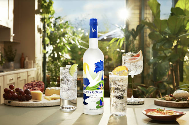 Grey Goose's limited edition summer bottle will brighten up your dining table
