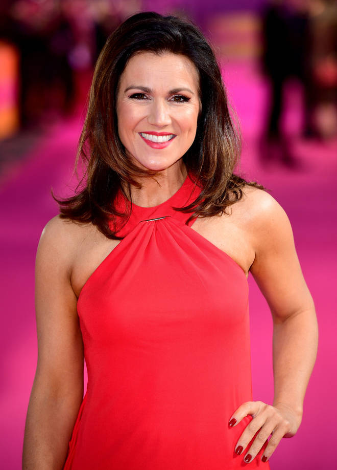Susanna Reid hosts Good Morning Britain with Piers Morgan