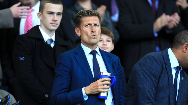 Steve Parish is the chairman of Crystal Palace football club
