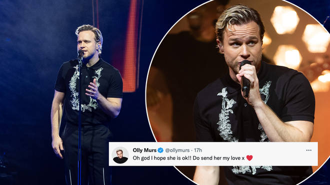 Olly Murs was praised by his fans
