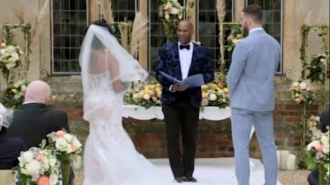 Nikita and Ant got married on MAFS UK