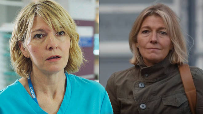 Bernie Wolfe is seemingly back from the dead in Holby City