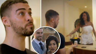 Married at First Sight's Nikita throws drink at new husband Ant in honeymoon first look