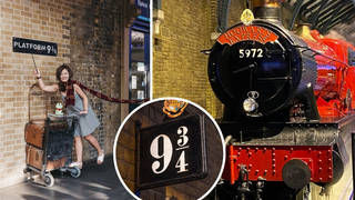 A replica or the trolley at Platform 9 ¾ will be travelling across stations in the UK