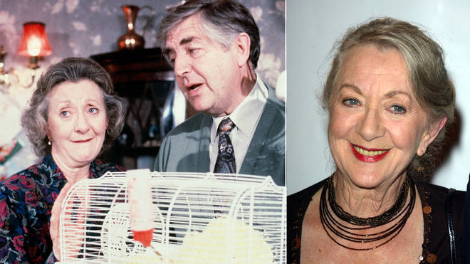 Thelma Barlow played Mavis in Coronation Street