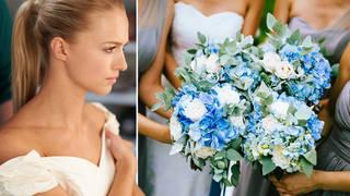 The ex-bridesmaid shared her story to Reddit (stock images)