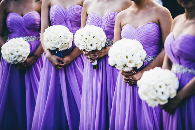 The woman was kicked out the bridal party for cutting her hair (stock image)
