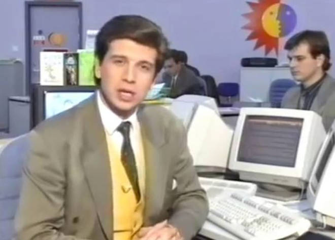 Nick Knowles once worked as a traffic reporter
