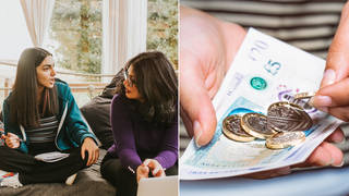 A woman has asked her teenage daughter to pay rent