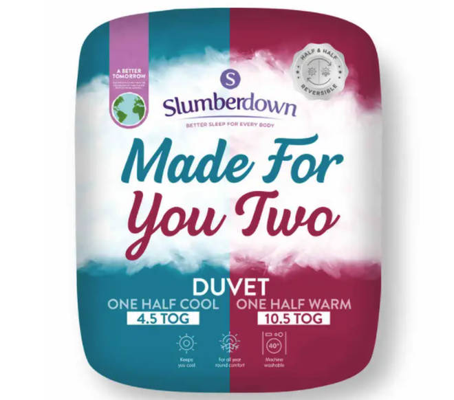 Made For You Two duvet
