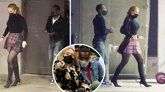 Adele and her new man Rich Paul left celebrity hotspot Otium