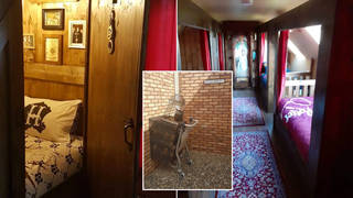 You can stay in this Harry Potter room