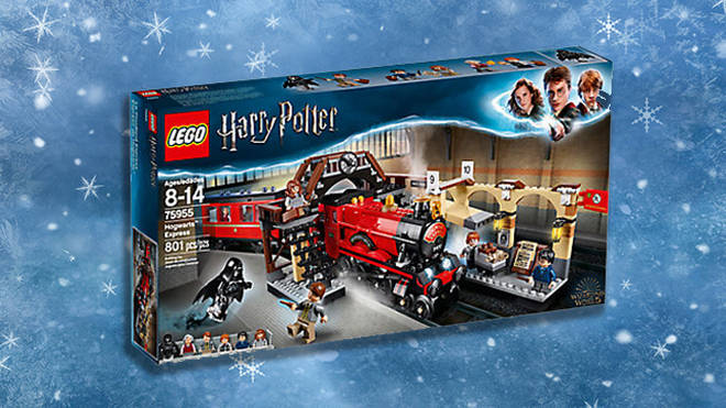 Harry Potter Hogwarts Express lego set