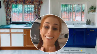 Stacey Solomon has showed off her new kitchen
