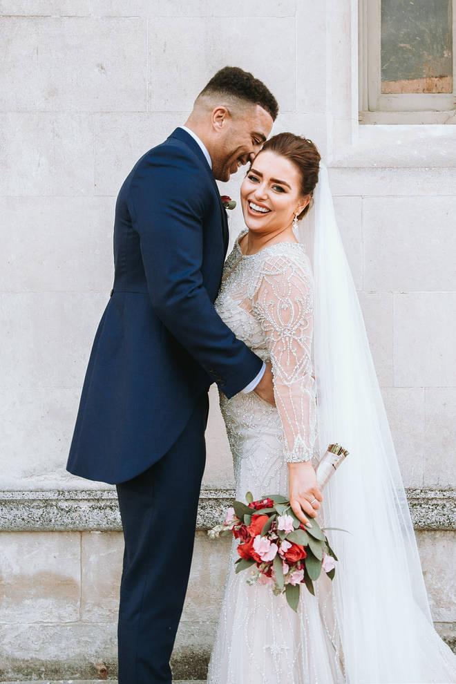 Amy Christophers and Josh Christie were matched on MAFS UK